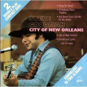 steve goodman - city of new orleans CD 1989 pair buddah BMG Direct 19 tracks used mint