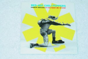 red hot chili peppers - higher ground + if you want me to stay CD single 1992 emi