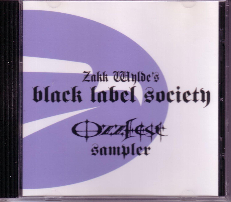 zakk wylde's black label society ozzfest sampler CD 2004 9 tracks used mint