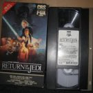 star wars return of the jedi VHS first edition five star collection 1983 lucas 1986 cbs fox new