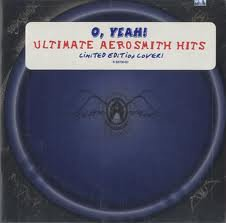 o yeah ultimate aerosmith hits limited edition with hologram cover  CD 2-discs geffen new