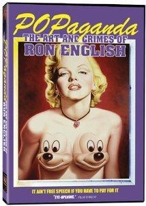 popaganda the art and crimes of ron english DVD 2006 cinema libre studio used mint