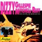 dizzy gillespie + mitchell-ruff duo CD 1993 sony mainstream 8 tracks used