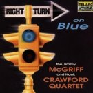 jimmy mcgriff and hank crawford quartet - right turn on blue CD 1994 telarc used mint