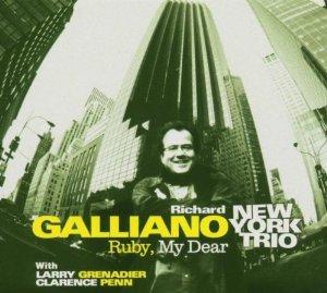 richard galliano new york trio - ruby my dear CD 2006 dreyfus sony used mint