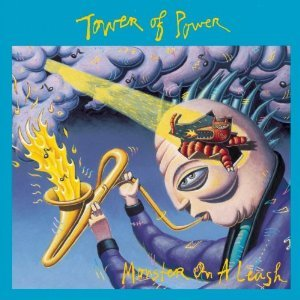 tower of power - monster on a leash CD 1991 epic sony 12 tracks used mint