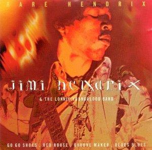jimi hendrix & the lonnie youngblood band - rare hendrix CD 1996 CMC puk digital 11 tracks used mint
