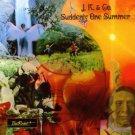 j.k. & co - suddenly one summer CD 2001 sundazed music used mint