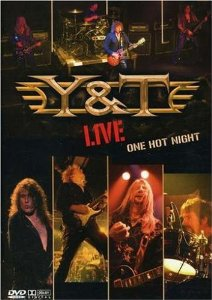 Y&T - live one hot night DVD 3-discs 2007 locomotive spain used mint