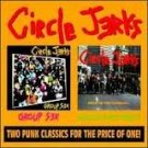 circle jerks - group sex & wild in the streets CD frontier 28 tracks used mint