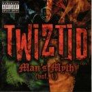 twiztid - man's myth vol. 1 CD & DVD 2005 psychopathic used mint