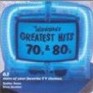 teevee toons presents television's greatest hits 70's & 80's CD TVT 65 tracks used mint