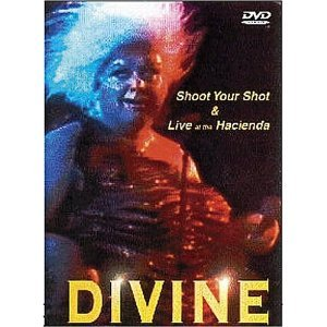Divine: Shoot Your Shot & Live at the Hacienda DVD 2000 cherry red films 76 mins used mint