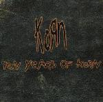 korn - ten years of korn CD 2003 epic 13 tracks used mint