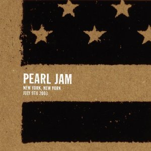 pearl jam - new york new york july 9th 2003 CD 2-discs sony used mint