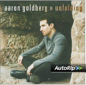 aaron goldberg - unfolding CD 2001 j curve 9 tracks used