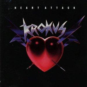 krokus - heart attack CD 1987 geffen 10 tracks used mint