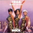 classic rock 1964 shakin' all over - various artists CD 1989 time life warner 22 tracks used mint