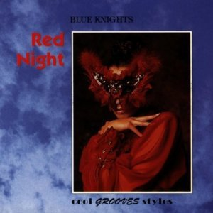 blue knights - red night CD 1993 innovative communication 12 tracks used mint