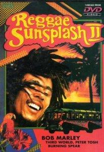 reggae sunsplash II - bob marley third world peter tosh burning spear DVD 60 mins used