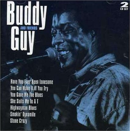 buddy guy and frineds CD 1996 castle kaz st.clair canada 25 tracks used mint
