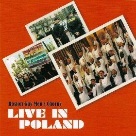 boston gay men's chorus - live in poland CD 2006 BGMC 20 tracks used mint
