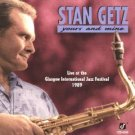 stan getz - yours and mine CD 1996 concord jazz 7 tracks used mint