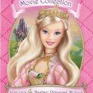 barbie movie collection - nutcracker rapunzel swan lake princess and pauper 4-DVD set