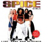 spice girls - live rare and remixed CD SGCD 54867-3200 19 tracks used mint