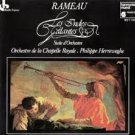 rameau - les indes galantes - chapelle royale + philippe hrreweghe CD 1984 harmonia mundi used