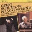 grieg & schumann - piano concertos - silverstein & sherman CD 1986 intersound proarte