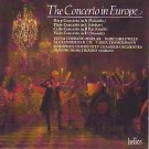 concerto in europe - merlak / grauwels / baillie / zimmermann CD 1988 hyperion used mint
