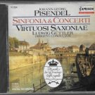 pisendel - sinfonia & concerti - virtuosi saxonae & guttler CD 1988 capriccio