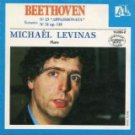 beethoven piano sonatas nos. 23 & 31 - michael levinas CD 1984 ades france used