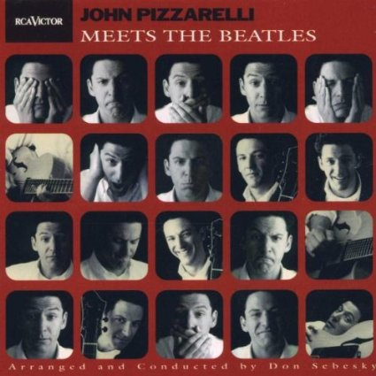 john pizzarelli - meets the beatles CD 1998 rca 12 tracks used mint