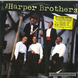 harpr brothers - harper brothers CD 1988 polygram verve 9 tracks used mint