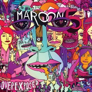 maroon 5 - overexposed CD 2012 A&M octone 15 tracks used mint