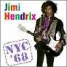 jimi hendrix - nyc '68 CD 1998 red lightning MIL multimedia 8 tracks used mint