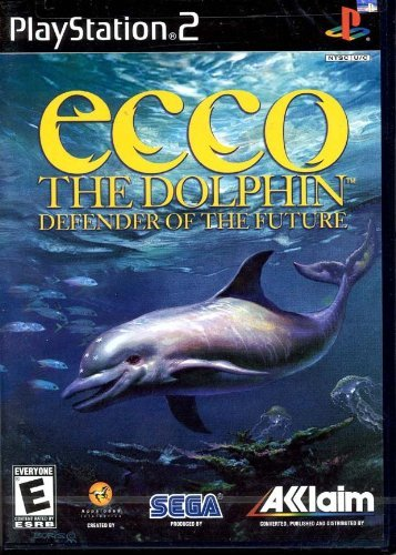 ecco the dolphin defender of the future - playstation 2 2002 acclaim sega E used mint