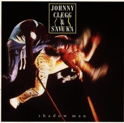 johnny clegg & savuka - shadow man CD 1988 capitol 10 tracks used mint