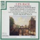 CPE bach Double Concerto Pour Calvecin & Pianoforte + Concerto Pour 2 Clavecins - koopman CD 1988