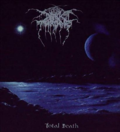 darkthrone - total death CD 1996 moonfog 8 tracks used mint