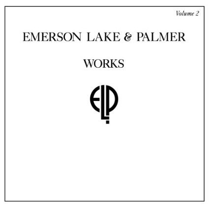 emerson lake & palmer - works volume 2 CD 2008 shout factory 12 tracks