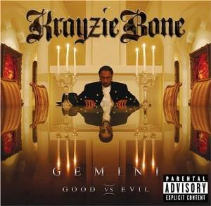 krayzie bone - gemini good vs evil CD 2-discs 2005 ball'r used mint