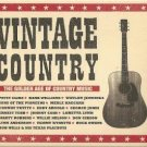 vintage country - various artists CD 2008 sony bmg 18 tracks used mint