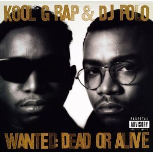 kool g rap & dj polo - wanted dead or alive CD 1990 cold chillin' warner 13 tracks used mint