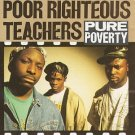 poor righteous teachers - pure poverty CD 1991 profile 13 tracks used mint