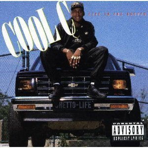 cool c - life in the ghetto CD 1990 atlantic 16 tracks used mint