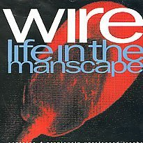 wire - life in the manscape CD single 1990 mule enigma 5 tracks used mint