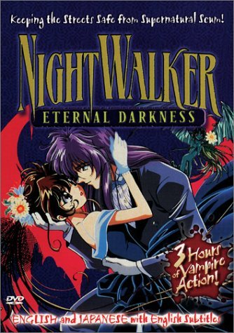NightWalker eternal darkness VHS 2000 us manga new